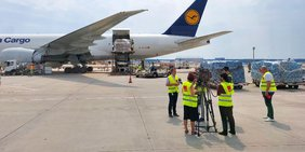 Michael Rudolph auf Sommertour, Flughafen Frankfurt am Main