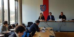Michael Rudolph und Sandro Witt zu den Anforderungen an die Thüringer Landesregierung
