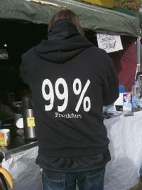 Jacke mit Aufdruck 99 Prozent