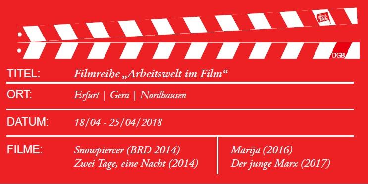 Filmreihe Arbeitswelt