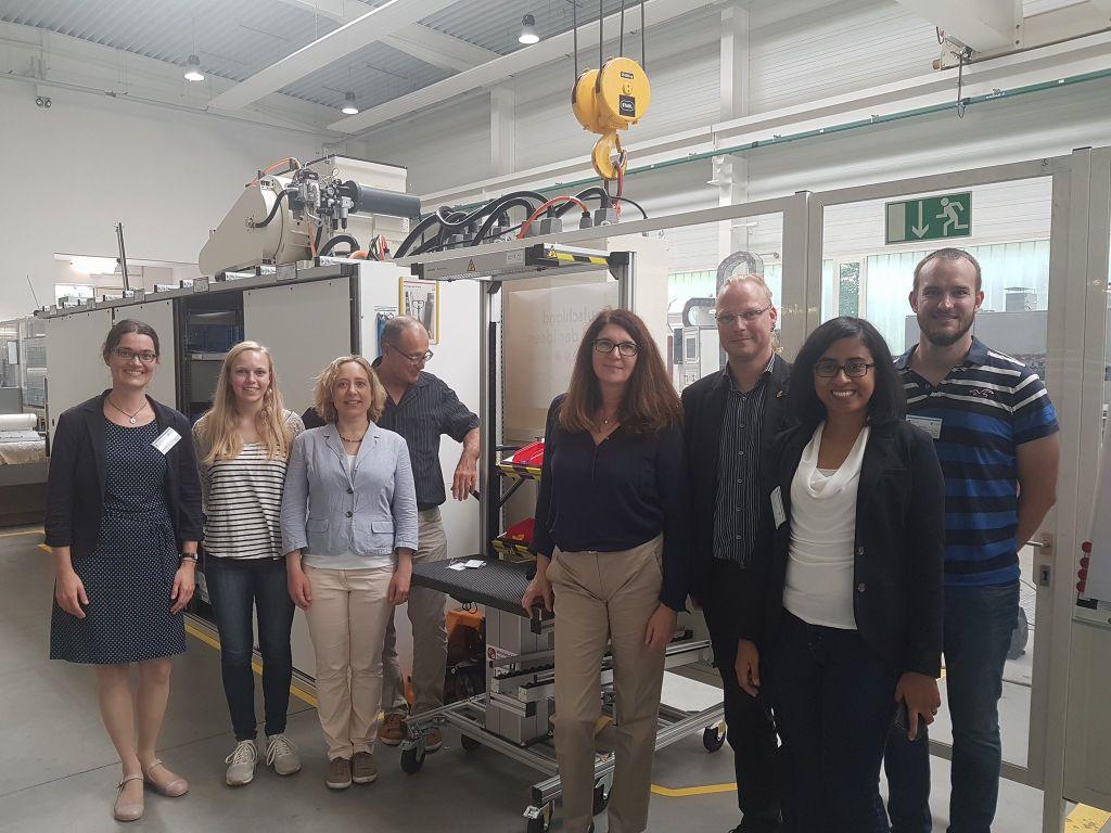 Prozesslernfabrik CIP-Lernfabrik