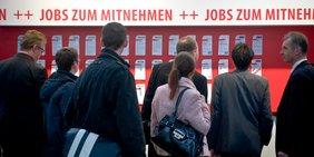 Jobangebote auf der Jobmesse