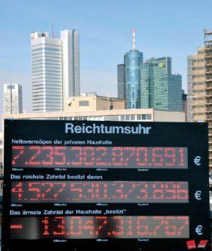 Reichtumsuhr