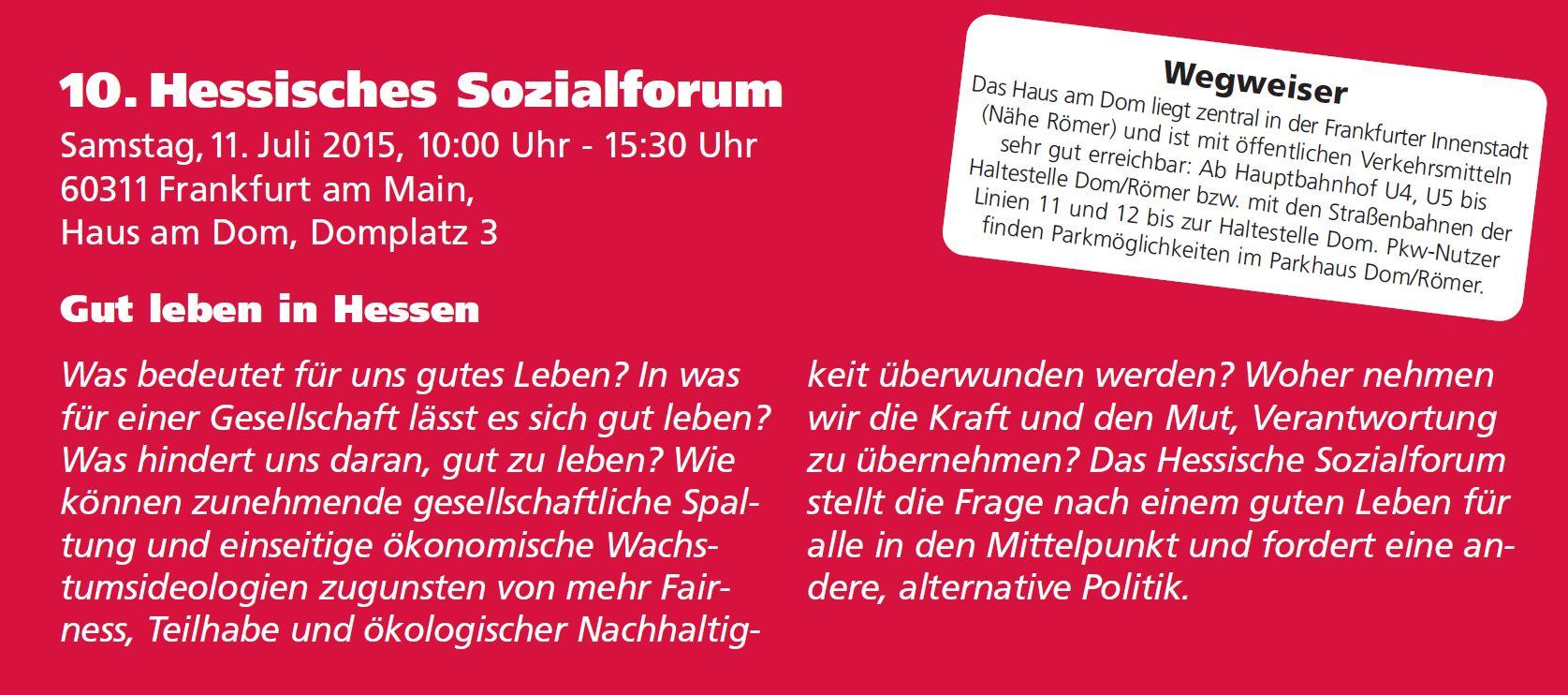 Hessisches Sozialforum