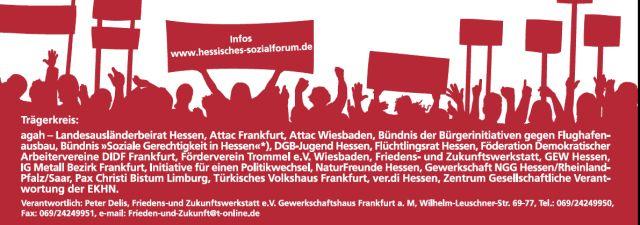 8. Hessisches Sozialforum 2013