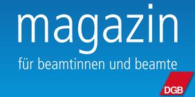 Logo Magazin für Beamtinnen und Beamte