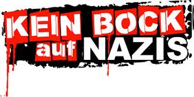 Textgrafik: Kein Bock auf Nazis