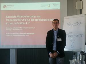 Christopher Stockinger (Kompetenzzentrum Mittelstand 4.0)