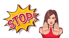 Comic Stop Gewalt gegen Frauen Teaser