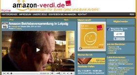 Amazon-ver.di Homepage