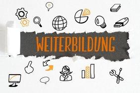 """Mindmap mit dem Hauptthema """"Weiterbildung"""""""