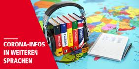 Corona-Infos in verschiedenen Sprachen