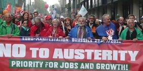 Europäischer Aktionstag 29.09.2010 - Demo in Brüssek