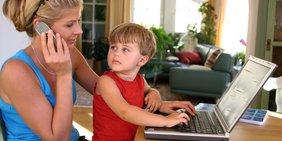 Teaser Home Office Telearbeit Vereinbarkeit Digitalisierung Eltern