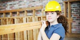 Teaser Arbeit Ausbildung Handwerk junge Frau