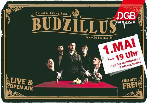 BudZillus 1. Mai