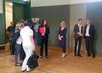 Kailing gemeinsam mit dem stellv. Vorsitzenden Sandro Witt die Marie-Elise-Kayser-Schule, Berufsschule für Gesundheits- und Sozialberufe