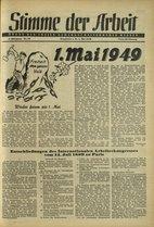 Stimme der Arbeit 1949