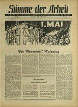 Stimme der Arbeit 1948