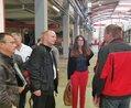 Besuch der DGB-Bezirksvorsitzenden Gabriele Kailing bei der Erfurter Bahn